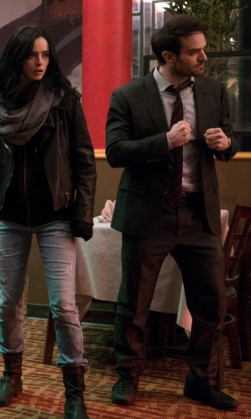 Charlie Cox with Onitsuka Tiger Platinum Appian Sneakers in Marvel's The Defenders