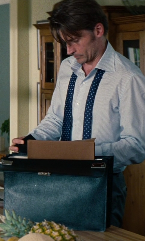 Nikolaj Coster-Waldau with Gucci Classic Briefcase in The Other Woman
