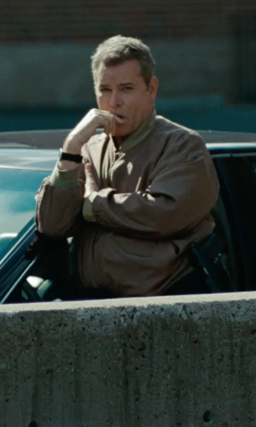 Ray Liotta with Victorinox Swiss Army 'Night Vision' Rubber Strap Watch in The Place Beyond The Pines