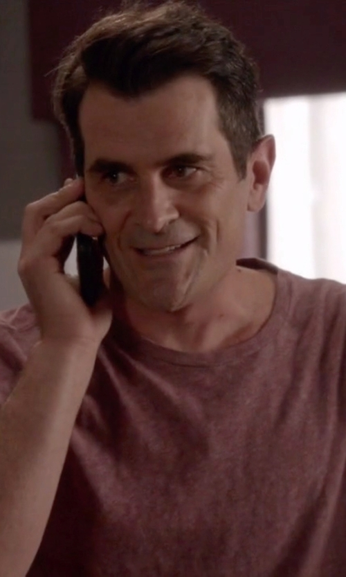 Ty Burrell with Samsung Galaxy S5 Phone in Modern Family