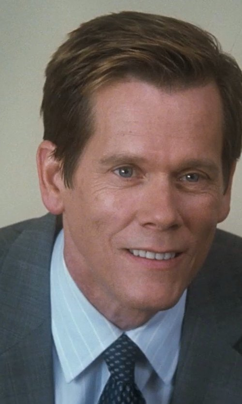 Kevin Bacon with John Varvatos Diamond Medallion Classic Tie in Crazy, Stupid, Love.