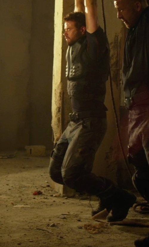 Kellan Lutz with Corcoran Joint Action Combat Boots in The Expendables 3