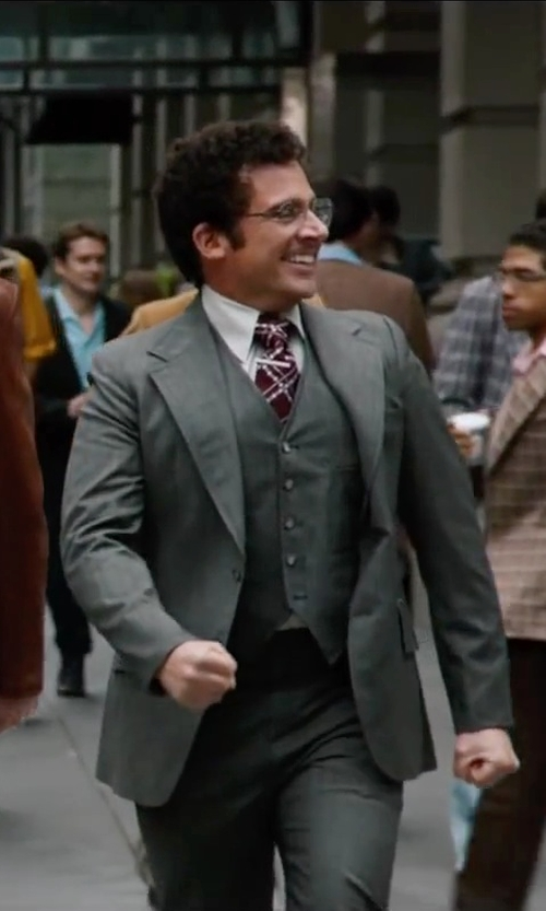 Steve Carell with Theory Formal Dress Shirt in Anchorman 2: The Legend Continues
