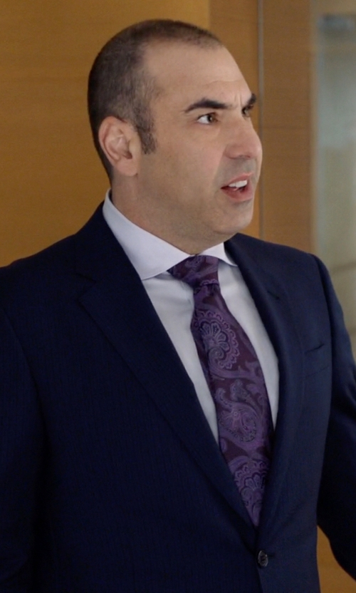 Rick Hoffman with Tonelo Pinstripe Suit in Suits