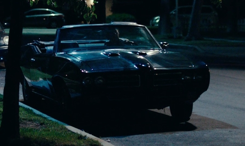 Bill Murray with Pontiac 1969 GTO Convertible Car in Rock The Kasbah