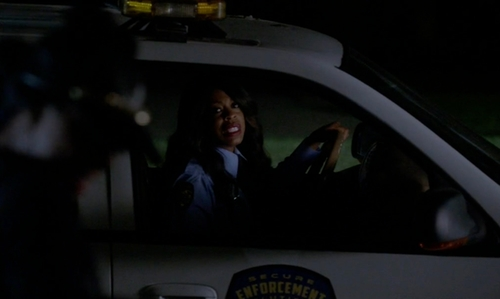 Niecy Nash with Chevrolet Trailblazer SUV in Scream Queens