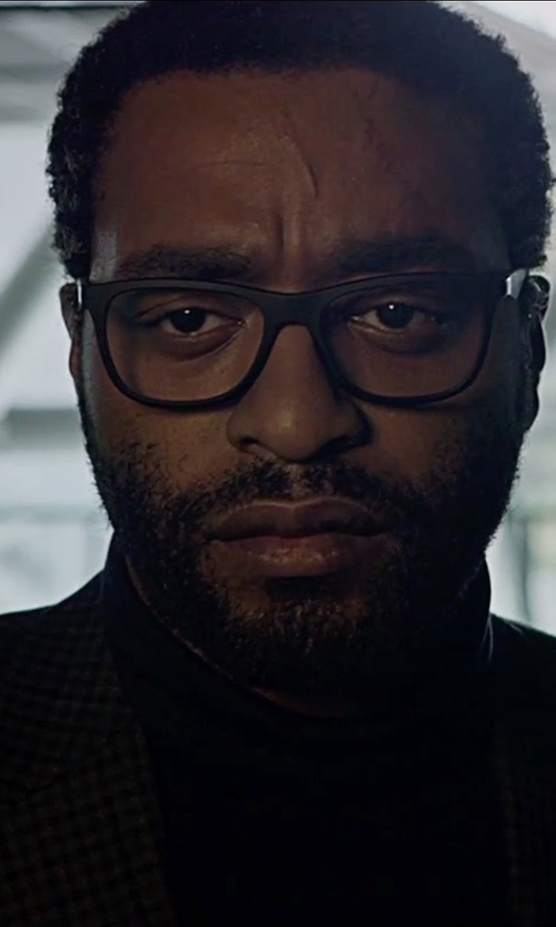 Chiwetel Ejiofor with Gran Sasso Turtleneck Sweater in The Martian