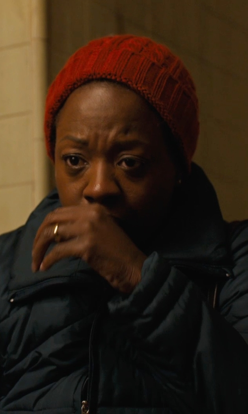 Viola Davis with Flylow Betty Down Jacket in Prisoners
