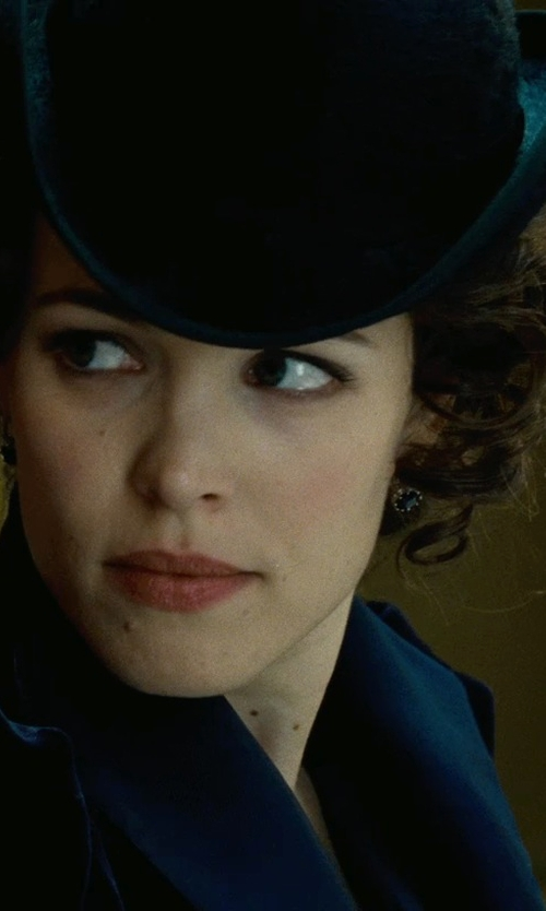 Rachel McAdams with Albertus Swanepoel Byron Fedora Hat in Sherlock Holmes: A Game of Shadows