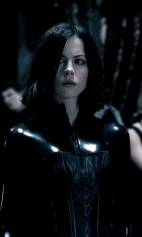 "Kate Beckinsale with Wendy Partridge (Costume Designer) Custom Made ""Selene"" Catsuit in Underworld"