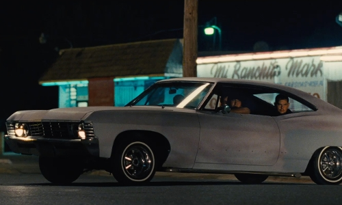 Unknown Actor with Chevrolet 1972 Chevelle Car in McFarland, USA