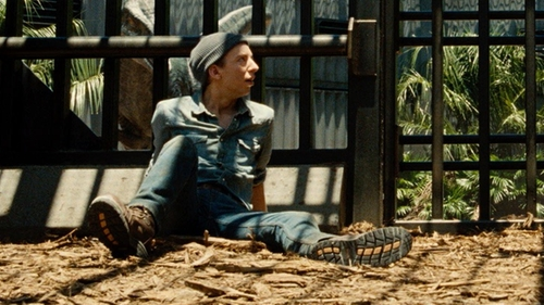 Colby Boothman with Levi's Men's 517 Bootcut Jean in Jurassic World