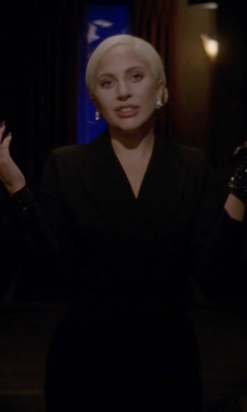 Lady Gaga with Adam Lippes Classic Blazer in American Horror Story