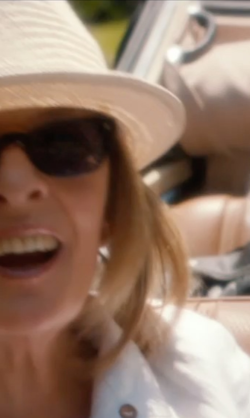 Diane Keaton with Ray-Ban Outsiders Oversized Wayfarer Sunglasses in And So It Goes