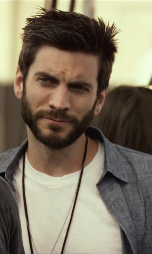 Wes Bentley with AG Jeans The Nimbus Shirt in We Are Your Friends