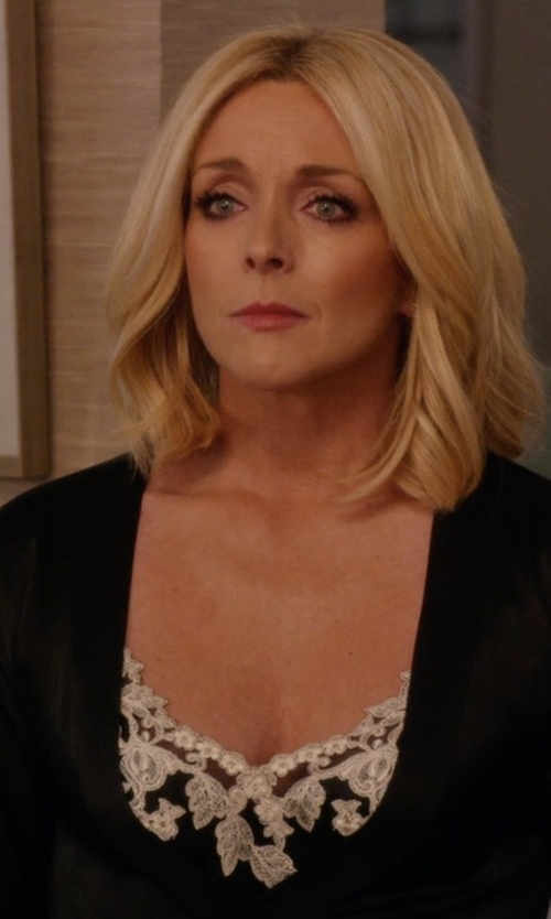 Jane Krakowski with La Perla Maison Slip Dress in Unbreakable Kimmy Schmidt