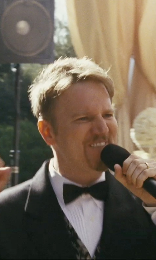 Dan Finnerty with Alfani Notch Lapel Tuxedo Suit in The Hangover