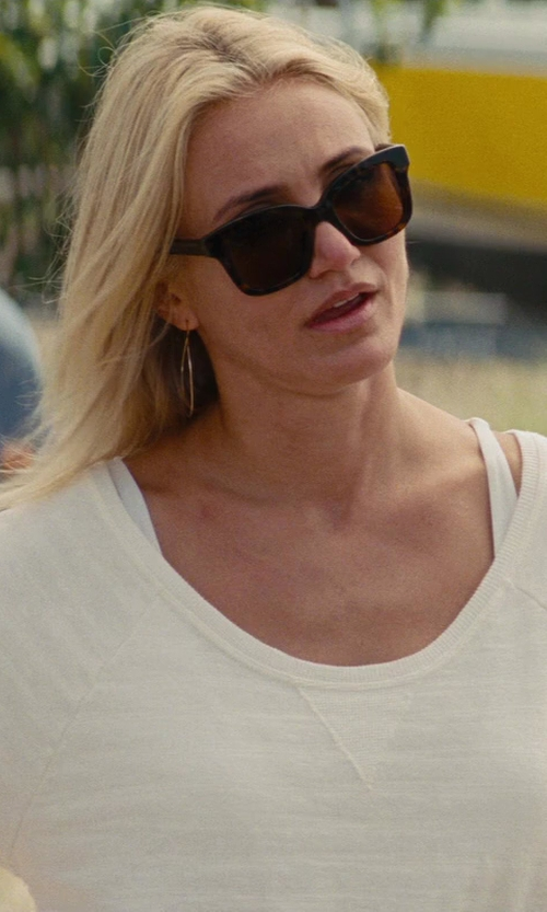 Cameron Diaz with Yves Saint Laurent Bold 1/S Sunglasses in The Other Woman