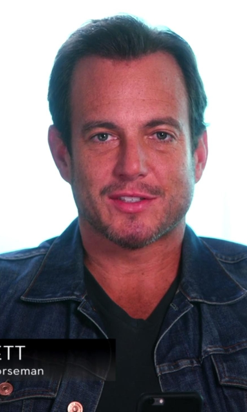 Will Arnett with Acne Studios Denim Who Jacket in Chelsea
