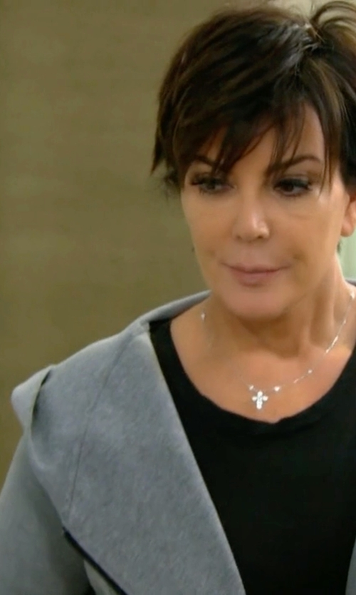 Kris Jenner with Golden Goose Deluxe Brand Zipped Hoodie in Keeping Up With The Kardashians