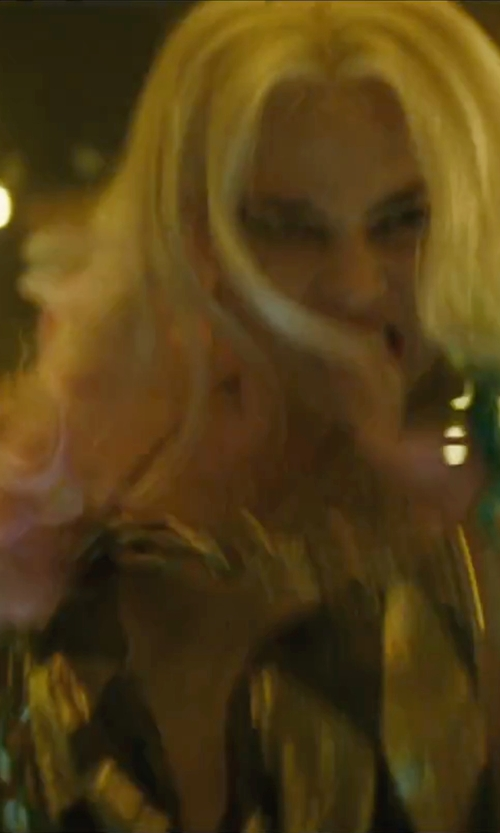 Margot Robbie with Joe's Jeans Nuit Tank Top in Suicide Squad