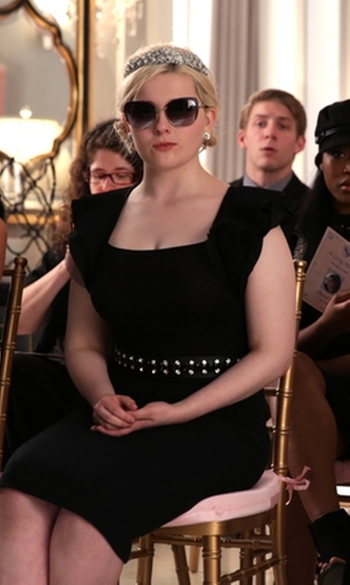 Abigail Breslin with Kate Spade New York Raelyn Sunglasses in Scream Queens