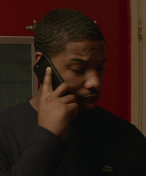 Michael B. Jordan with Apple iPhone 6 in That Awkward Moment