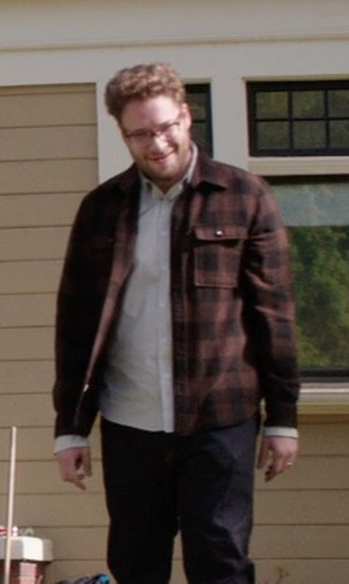 Seth Rogen with Calibrate Trim Fit Dress Shirt in Neighbors
