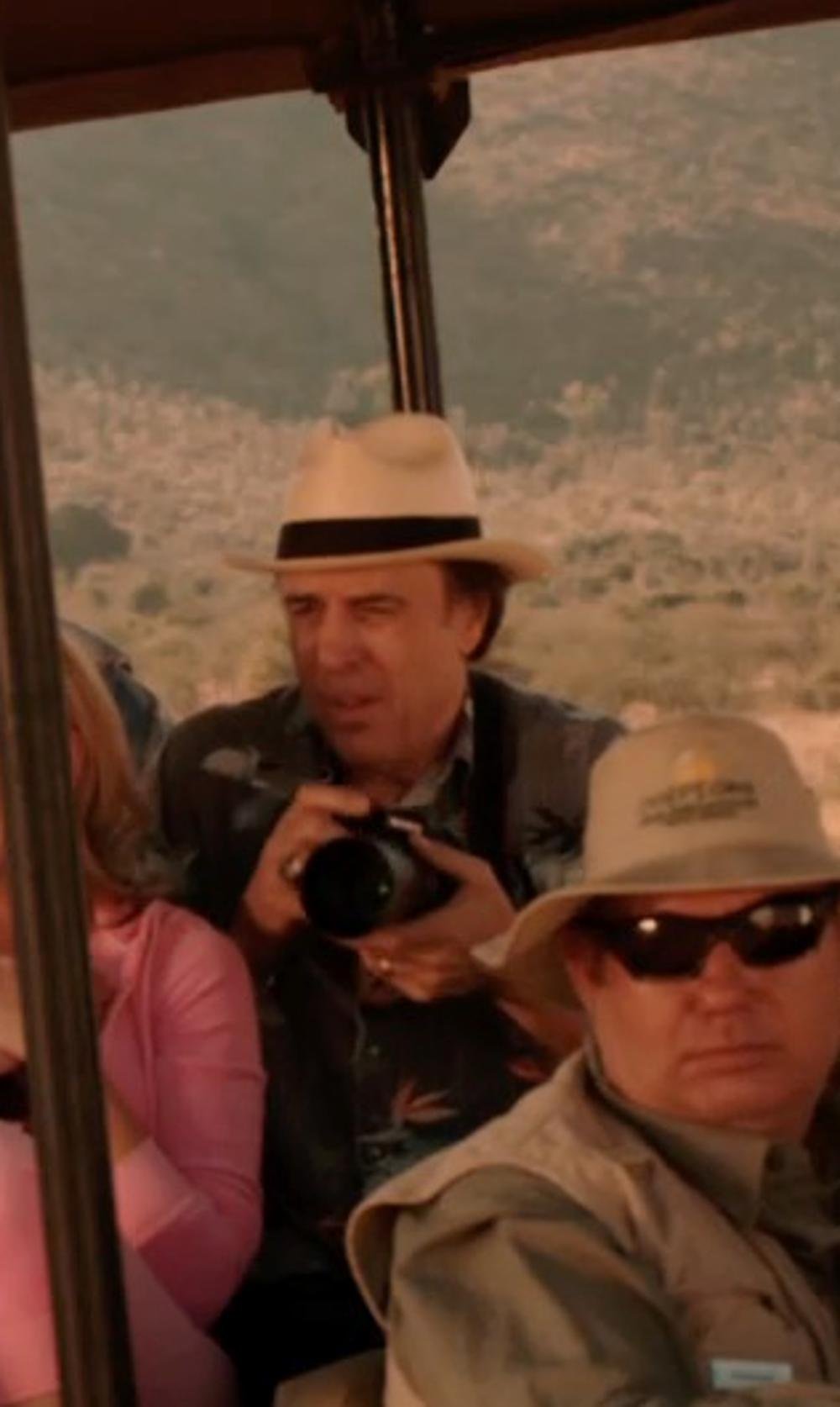 Kevin Nealon with Goorin Brothers 'Fine Day' Straw Fedora in Blended