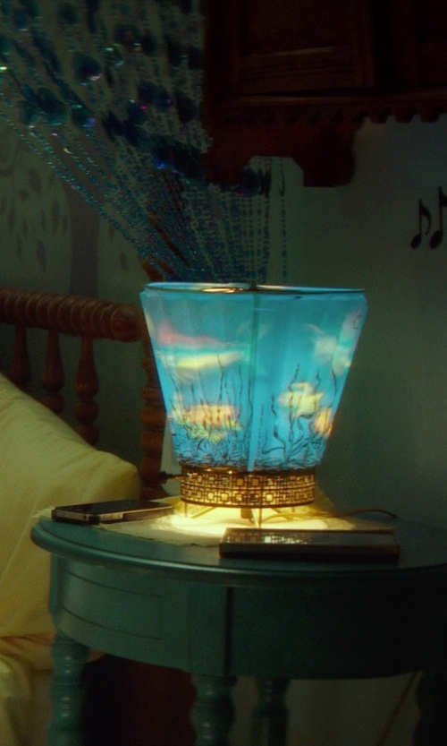 Chloë Grace Moretz with Magic Lamp Aquarium Lamp in If I Stay