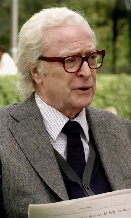 Michael Caine with Bespoken 'Stealth' Slim Fit Two-Button Sport Coat in Youth
