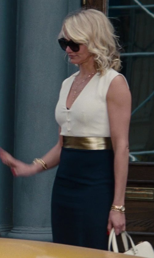 Cameron Diaz with Martin Grant Dana Dress in The Other Woman
