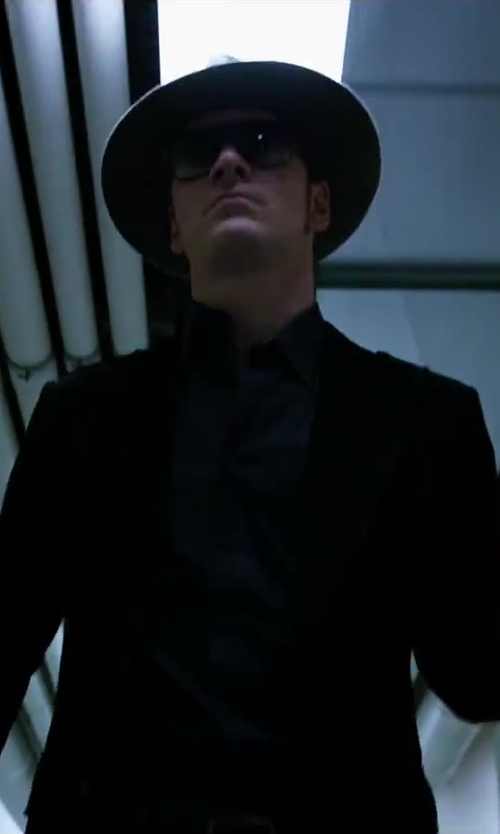 Michael Fassbender with Barbisio  Felted Rabbit Hair Fedora Hat in X-Men: Days of Future Past