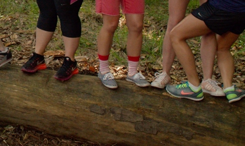 Hana Mae Lee with Keds Champion Micro Dot Shoes in Pitch Perfect 2