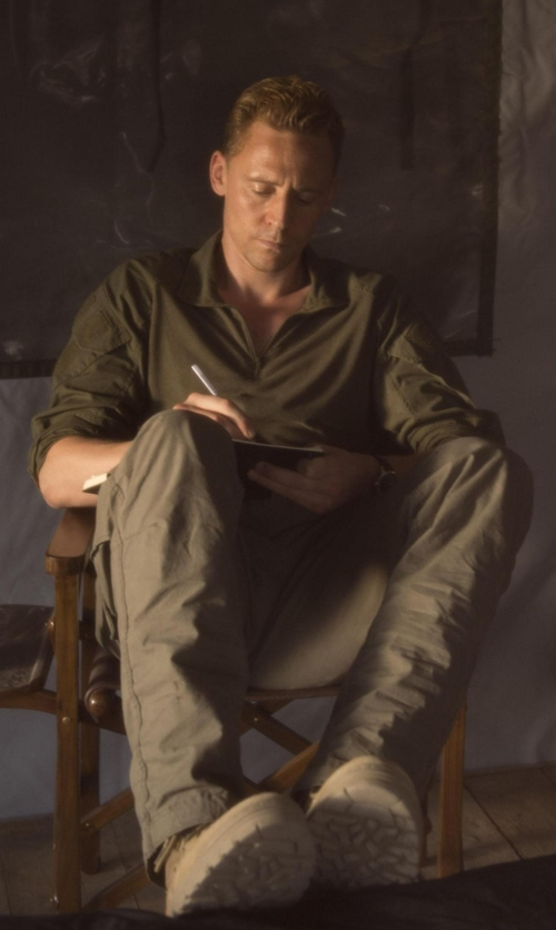 Tom Hiddleston with Timberland PRO Direct Attach Soft Toe Boots in The Night Manager