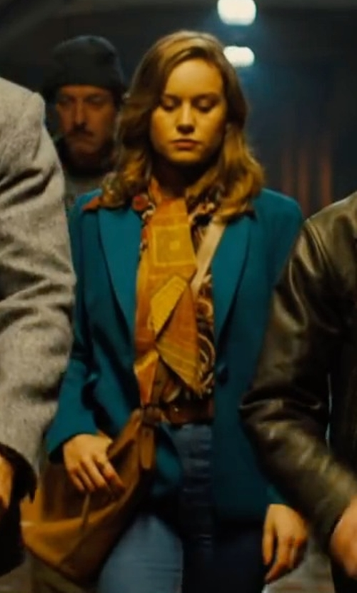 Brie Larson with Lucky Brand Athena Mini Crossbody Bag in Free Fire