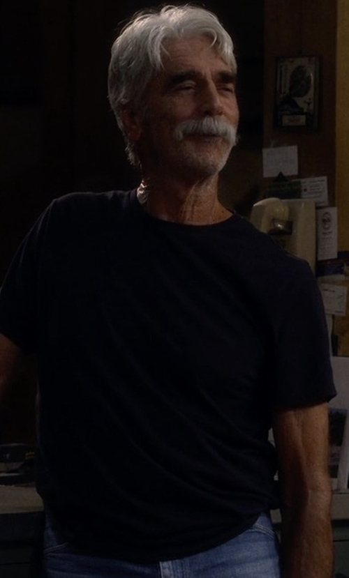 Sam Elliott with Chapter Ral Tee in The Ranch