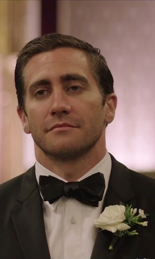 Jake Gyllenhaal with Tom Ford Grosgrain Silk Bow Tie in Demolition