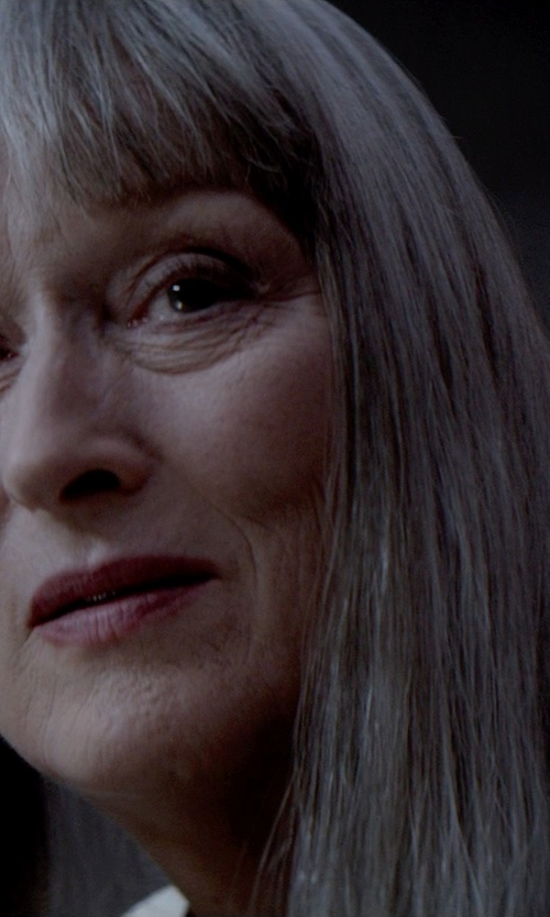 Diana Cilliers (Costume Designer) Custom Made Chief Elder White Skirt Suit in The Giver