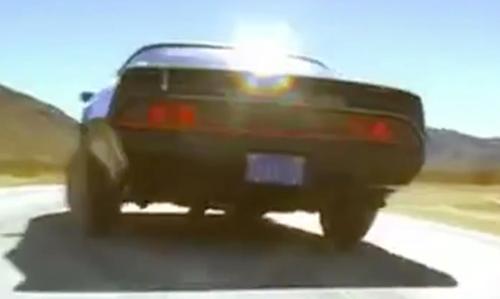 Daryl Hannah with Pontiac 1980 Firebird Trans Am Coupe in Kill Bill: Vol. 2