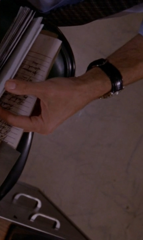 Wes Bentley with Raymond Weil Stainless Steel White Dial Watch in American Horror Story