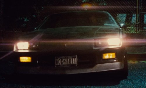 Liam Neeson with Chevrolet 1980 Camaro Car in Run All Night