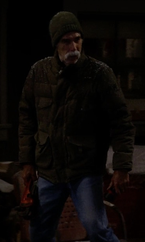 Sam Elliott with Neuw Utility Jacket in The Ranch
