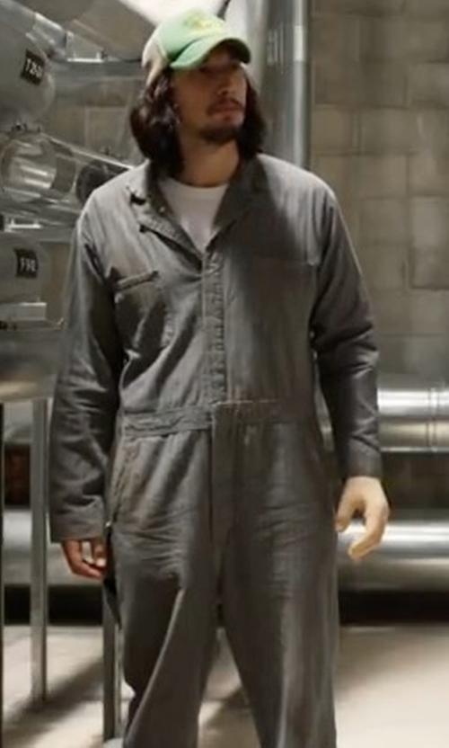 Adam Driver with Deus Ex Machina Foxtrot Shield in Logan Lucky