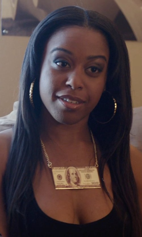 Dominique Perry with Rag & Bone The Classic Beater Tank Top in Get Hard