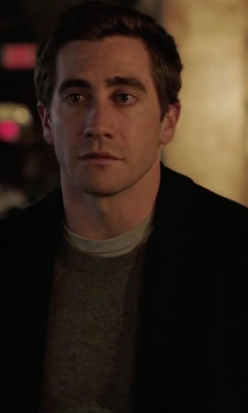 Jake Gyllenhaal with Dsquared2 Crew Neck Sweater in Demolition