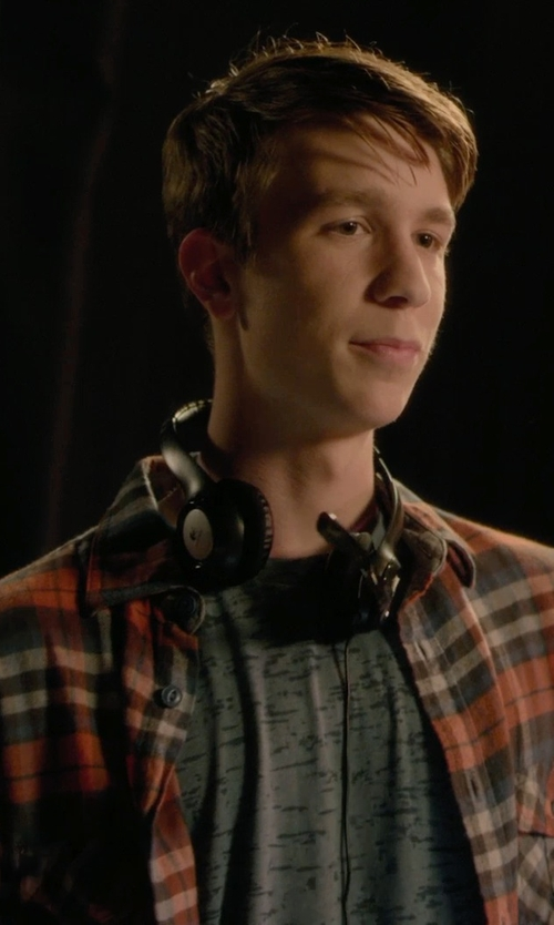 Thomas Mann with Pendleton Burnside Flannel Shirt in Barely Lethal