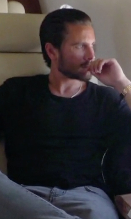 Scott Disick with John Elliott LS Mercer T-Shirt in Keeping Up With The Kardashians