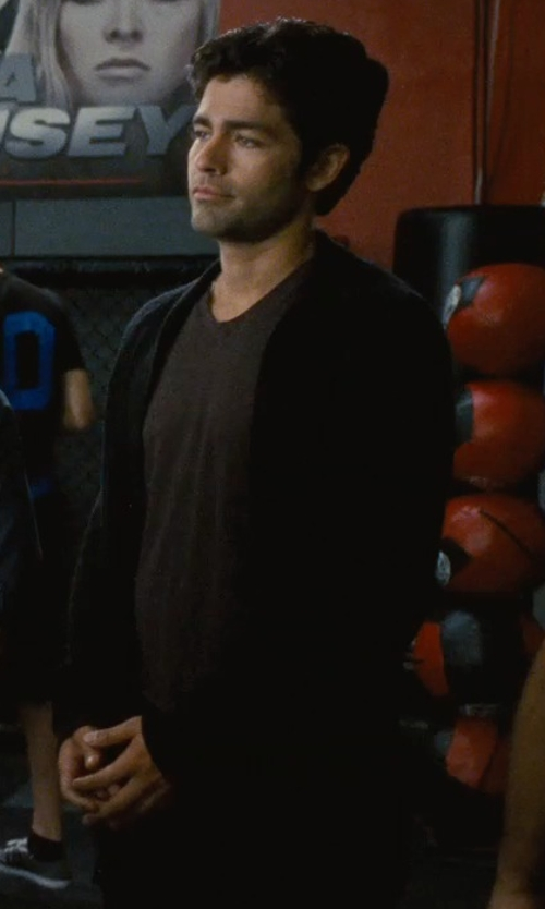 Adrian Grenier with Iro Lehi Cardigan in Entourage