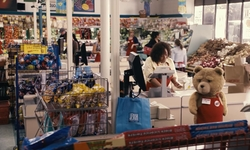 Seth MacFarlane with Compare Supermarket (Depicted As Bay Colony Super Market) Chelsea, Massachusetts in Ted